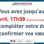 ParcourSup : fin de procédure