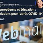 Mobilité européenne et éducation : quelles solutions pour l'après COVID-19 ?