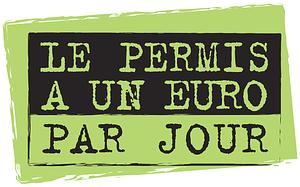permis à 1 euro