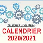 Infirmier, AS, AP, Ambulancier : le calendrier 2020-2021