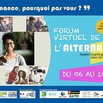 Forum virtuel de l'alternance du 06 au 10 juillet